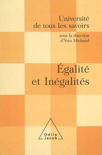 Égalité et inégalités - (Volume 10)