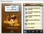 Régime des pâtes (Le) - Application IPhone