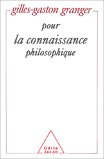 Pour la connaissance philosophique