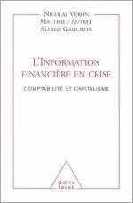 Information financière en crise (L') - Comptabilité et capitalisme